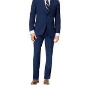 Tommy Hilfiger Men's Slim Fit Blue Dress Pants 33